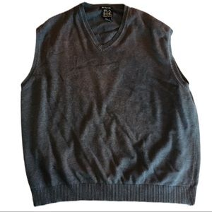 JOS. A BANK Signature Collection Sweater Vest Gray